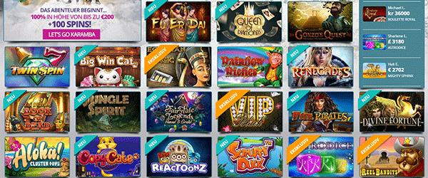 Karamba Spiele Angebote