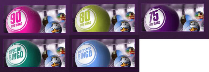 Die Bingo Varianten bei Ladbrokes