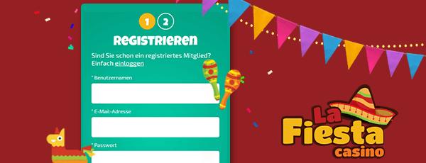 La Fiesta Casino Registrierung