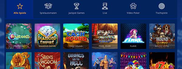 Lavadome Casino Spiele