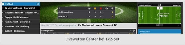 1x2bet Livewetten Center