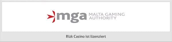 Rizk Casino Lizenz