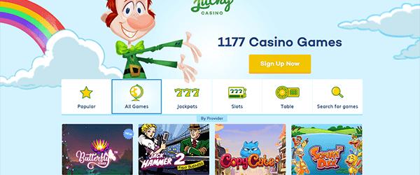 Lucky Casino Spiele Angebot