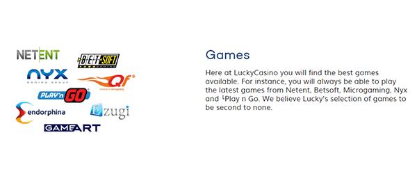 Lucky Casino Software
