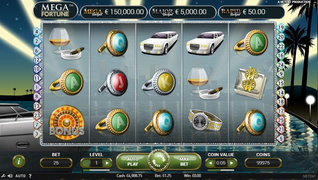 Mega Fortune kostenlos testen