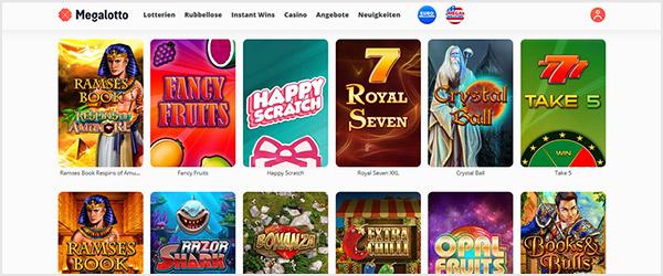 Megalotto Casino Spiele