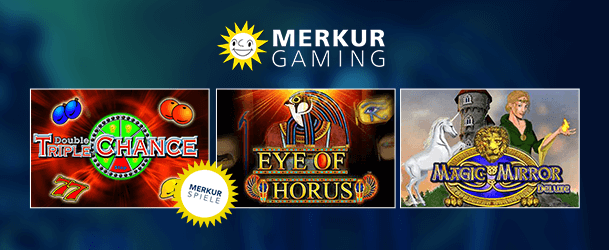 Merkur Gaming Spiele