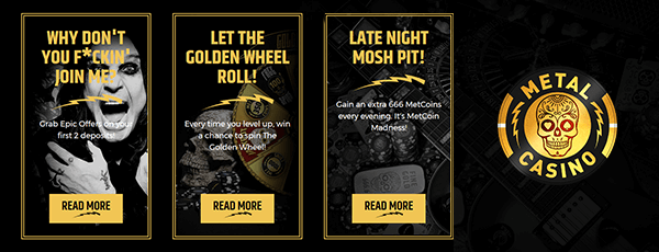 Metal Casino Promotion