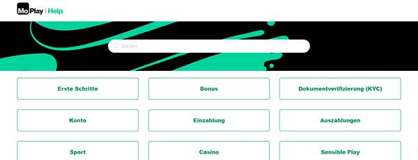 Moplay Casino Kundenservice
