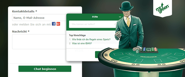 Mr Green Casino Support