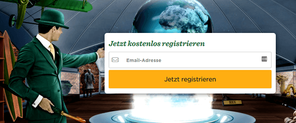 Mr Green Casino Registrierung