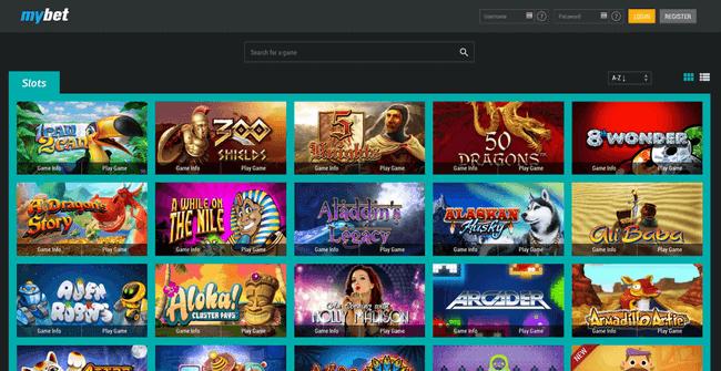 mybet Casino Slots