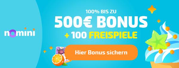 Nomini Casino Bonus