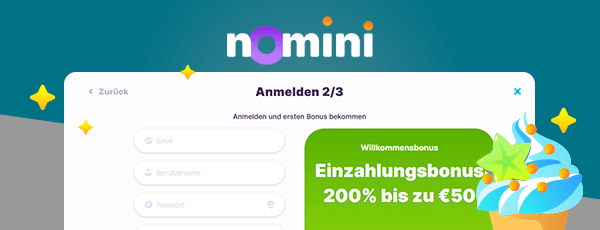 Nomini Casino Registrierung