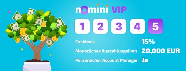 Nomini Casino VIP Programm