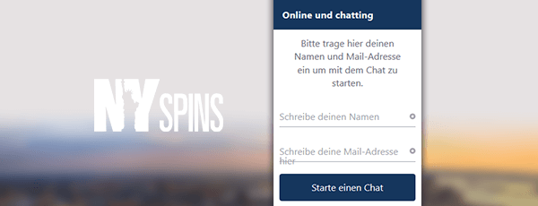 NYSpins Casino Kundenservice