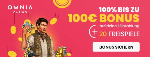 Omnia Casino Bonus