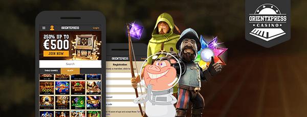 OrientXPress Casino App