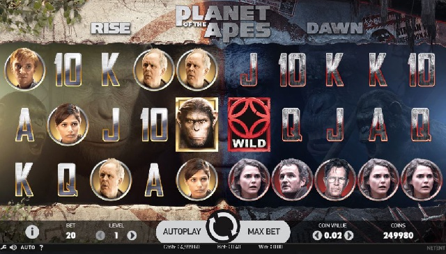 Planet of the Apes kostenlos testen