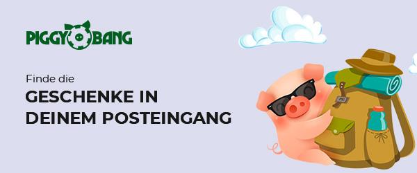 Piggy Bang Casino Geschenk