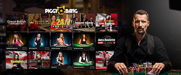 Piggy Bang Casino Livecasino