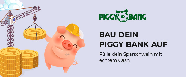 Piggy Bang Casino Sparschwein