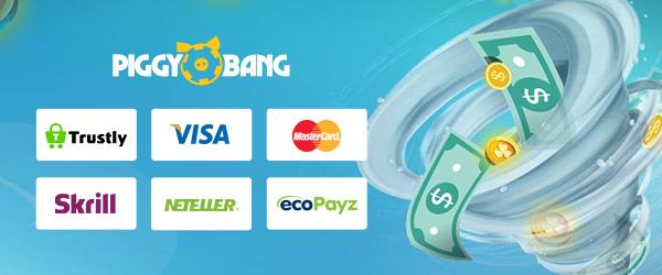 Piggy Bang Casino Zahlungen
