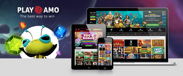 PlayAmo Casino Mobil
