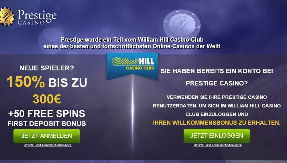 Prestige Casino Gutschein Code