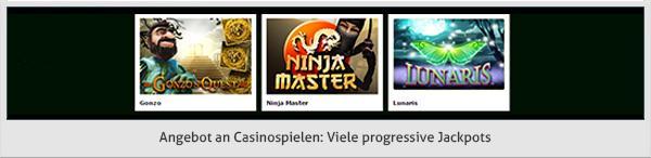 Prime Casino Spiele Angebot