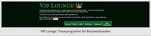 Prime Casino VIP Angebot