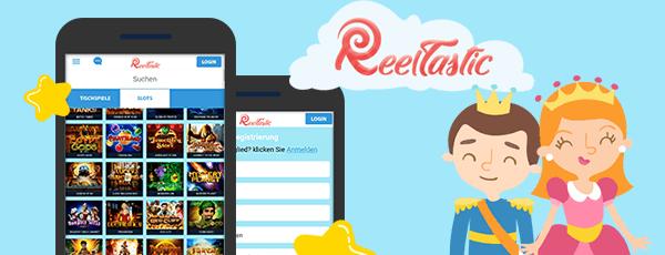 Reeltastic Casino App