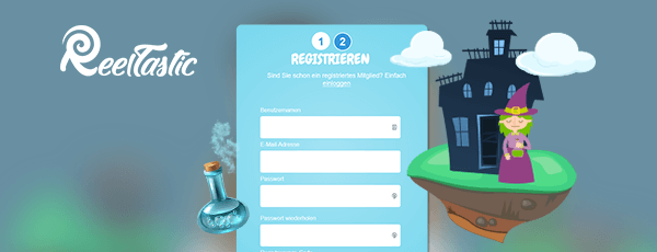 Reeltastic Casino Registrierung