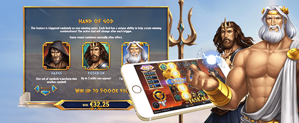 Rise of Olympus Mobil spielen