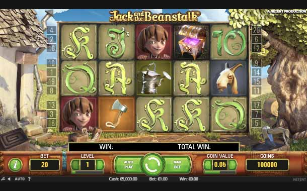Jack and the Beanstalk kostenlos testen