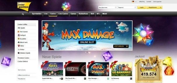 Attraktives Casino bietet eine Vielzahl an Spielen und Angeboten