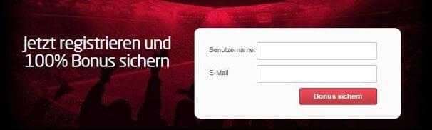 Neue Kunden erhalten einen 100% bis 100€ Bonus auf die erste Einzahlung