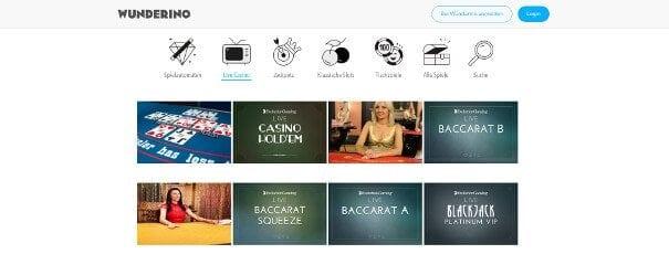 Labrokes Casino Livespiele