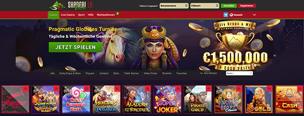 Shangri La Live Casino Games