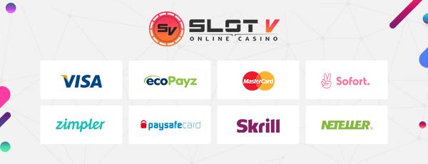 SlotV Zahlung