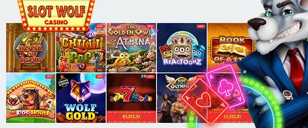 SlotWolf Casino Spiele