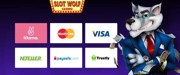 SlotWolf Casino Zahlungen