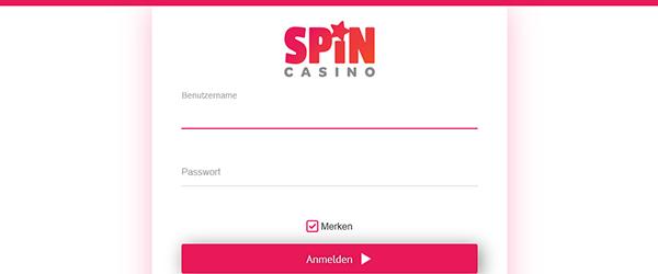 spin casino registrierung