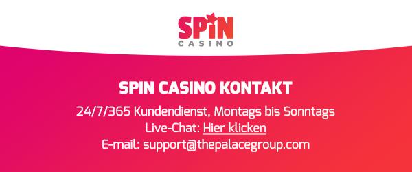 spin casino service