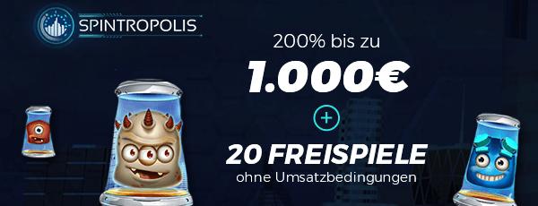 Spintropolis Casino Bonus