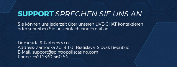 Spintropolis Casino Kundensupport