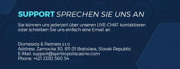 Spintropolis Casino Kundensupport