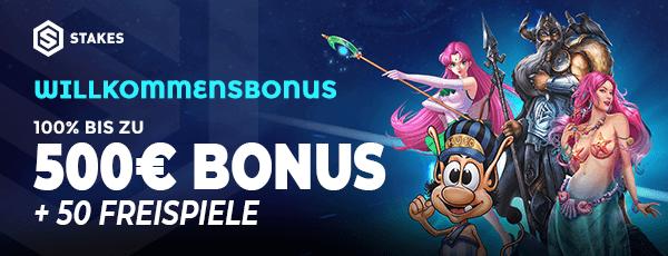 Stakes Casino Bonus
