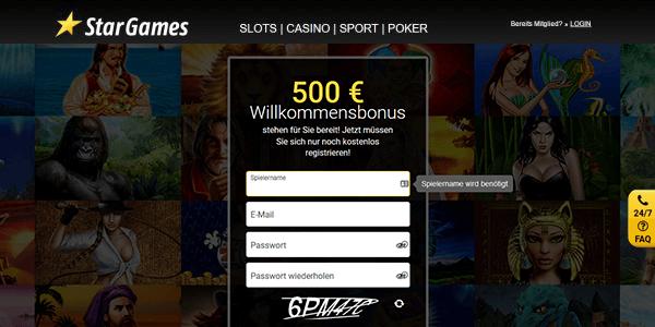 Stargames Echtgeld Casino Bonus