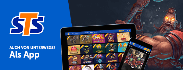STS Casino Mobile App
